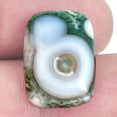 Natural 12.15cts ocean sea jasper multi color 18x13 mm loose gemstone s10299