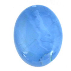 Natural 23.45cts owyhee opal blue cabochon 30x22.5 mm oval loose gemstone s11273