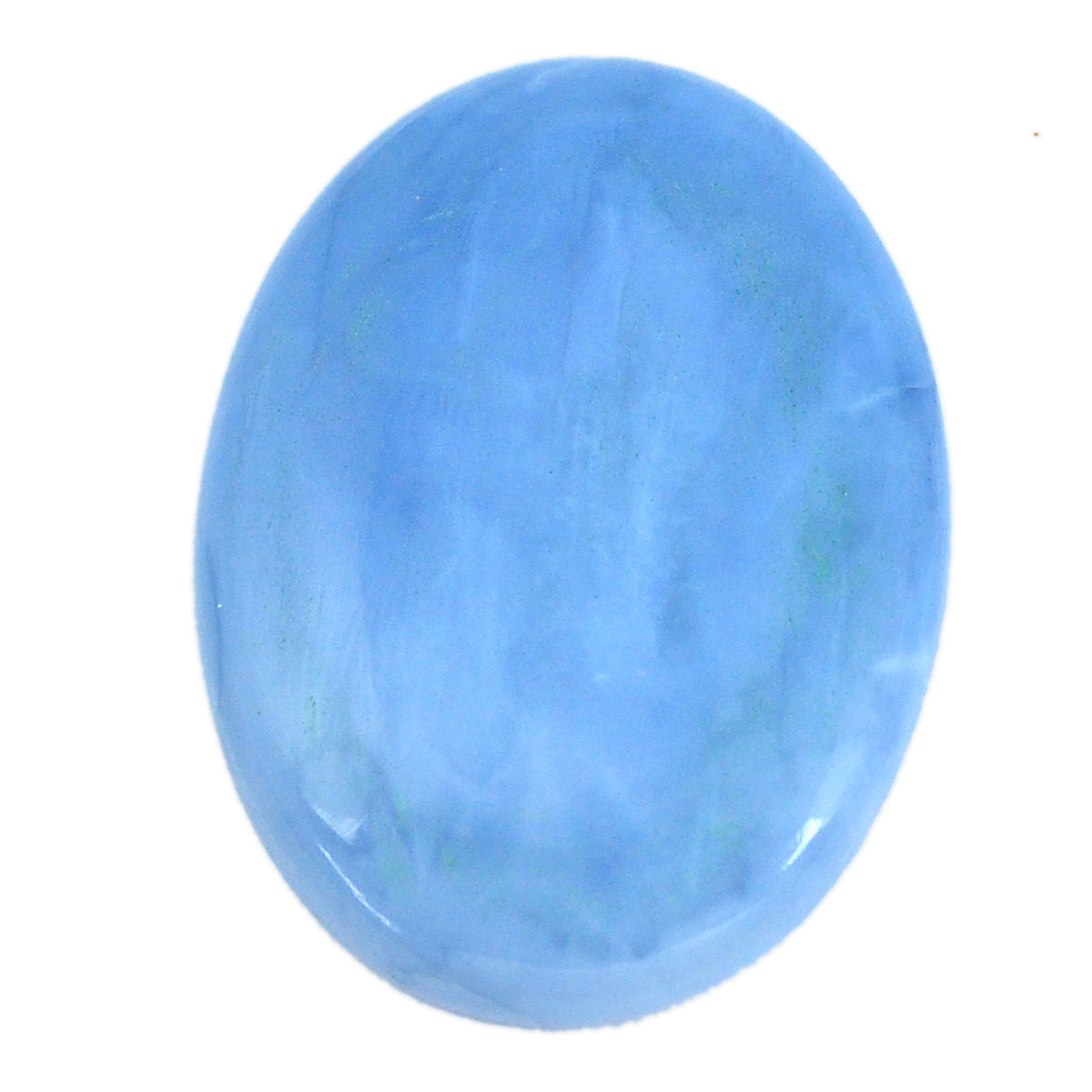 Natural Owyhee Blue Opal Stone 120ct Blue Opal Cabochon Oval Shape Natural Blue opal Gemstone For Jewelry Making Blue Opal Loose Stone G533