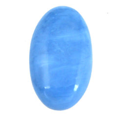 Natural 27.40cts owyhee opal blue cabochon 35x20 mm oval loose gemstone s11267