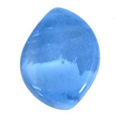 Natural 29.20cts owyhee opal blue cabochon 35x25 mm fancy loose gemstone s11278