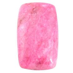 Natural 18.45cts petalite pink 27x15 mm octagan loose gemstone s14410