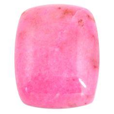 Natural 17.40cts petalite pink cabochon 21x16 mm octagan loose gemstone s14421