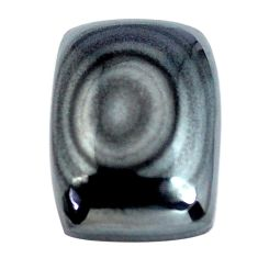 Natural 12.40cts psilomelane cabochon 15x11 mm octagan loose gemstone s14096