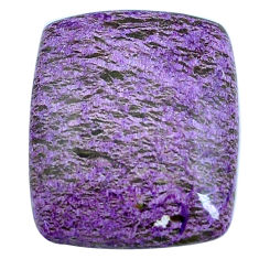 Natural 15.10cts purpurite purple cabochon 24x20mm octagan loose gemstone s14011