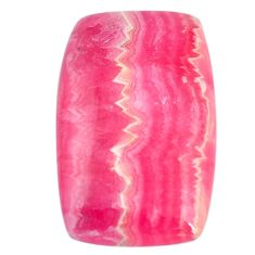Natural 22.35cts rhodochrosite cabochon 28x17 mm octagan loose gemstone s11923