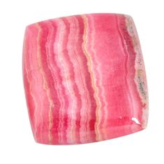 Natural 22.35cts rhodochrosite inca rose pink 21.5x19 mm loose gemstone s11971