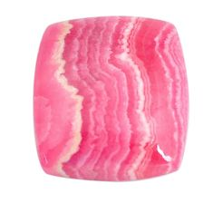 Natural 22.40cts rhodochrosite inca rose pink 21x18.5 mm loose gemstone s11950