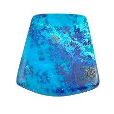 Natural 25.15cts shattuckite blue cabochon 27.5x25mm fancy loose gemstone s14614
