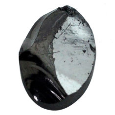 Natural 5.10cts shungite black cabochon 15x10 mm fancy loose gemstone s13937