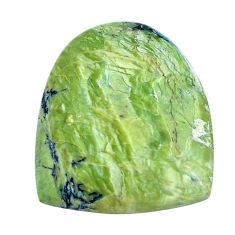 Natural 9.45cts swiss imperial opal green 22x19 mm fancy loose gemstone s10971