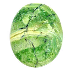 Natural 10.15cts swiss imperial opal green 23x17.5 mm oval loose gemstone s14379