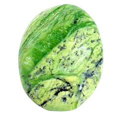 Natural 13.45cts swiss imperial opal green 24x18 mm oval loose gemstone s14372