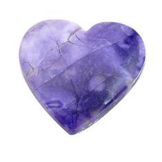 Natural 14.15cts tiffany stone purple cabochon 21x22 mm loose gemstone s14703