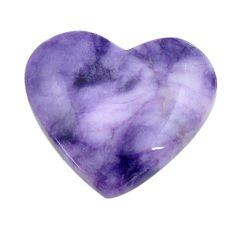Natural 22.35cts tiffany stone purple cabochon 24x27 mm loose gemstone s14702