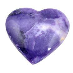 Natural 23.15cts tiffany stone purple cabochon 26x28 mm loose gemstone s14660