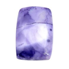 Natural 21.20cts tiffany stone purple cabochon 29x19 mm loose gemstone s14699