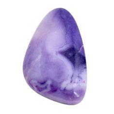 Natural 16.35cts tiffany stone purple cabochon 30x17.5 mm loose gemstone s14718