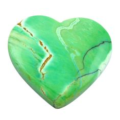 Natural 22.35cts variscite green cabochon 22.5x25 mm heart loose gemstone s14861