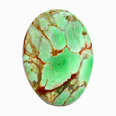 Natural 14.35cts variscite green cabochon 23x16.5 mm oval loose gemstone s14879