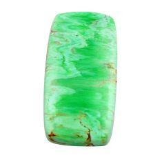 Natural 15.10cts variscite green cabochon 25x13 mm octagan loose gemstone s14877
