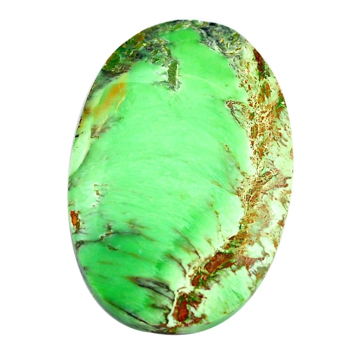 Variscite Cabochon Variscite Gemstone Natural Variscite size 34 x 48 mm Loose Variscite Pear Gemstone Cabochon ET 3567 Variscite