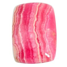 27.35cts rhodochrosite inca rose pink 25x17 mm octagan loose gemstone s11922