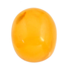 amber bone yellow cabochon 16x13 mm oval loose gemstone s15693