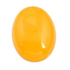 amber bone yellow cabochon 16.5x12.5 mm loose gemstone s15710
