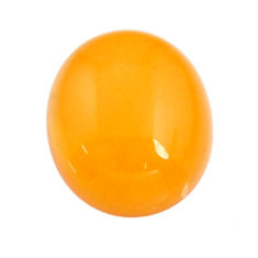 amber bone yellow cabochon 15x13 mm oval loose gemstone s15712