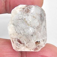 Natural 64.45cts herkimer diamond white rough 29x22.5 mm loose gemstone s15780