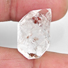 Natural 16.30cts herkimer diamond white rough 20x13.5 mm loose gemstone s15783