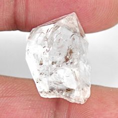 Natural 22.35cts herkimer diamond white rough 20x14 mm loose gemstone s15784