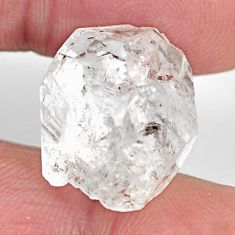 herkimer diamond white rough 18.5x15.5 mm loose gemstone s15793