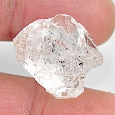 herkimer diamond white rough 18.5x16 mm loose gemstone s15803