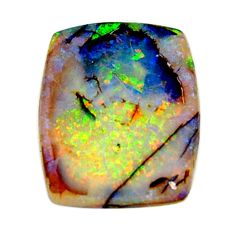 8.45cts australian fire opal green cabochon 21x17 mm loose gemstone s16006