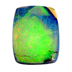 7.40cts australian fire opal green cabochon 21x15 mm loose gemstone s16011