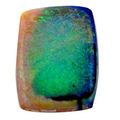 10.10cts sterling opal multi color cabochon 25x17.5 mm loose gemstone s16042