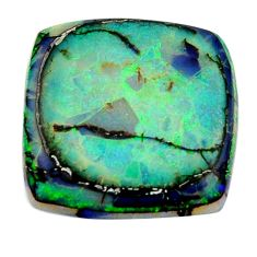 12.40cts sterling opal multi color cabochon 22x22mm loose gemstone s16053