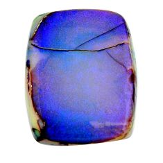 16.30cts sterling opal multi color cabochon 28x21 mm loose gemstone s16054