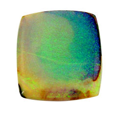 12.40cts sterling opal multi color cabochon 24x21 mm loose gemstone s16056