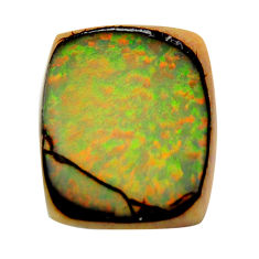12.40cts sterling opal multi color cabochon 24x19 mm loose gemstone s16059