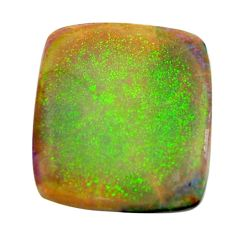 12.40cts sterling opal multi color cabochon 22x20 mm loose gemstone s16061