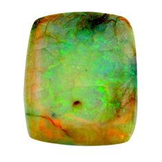 g opal multi color cabochon 22x17 mm loose gemstone s16066