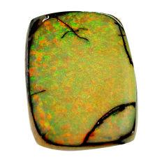 g opal multi color cabochon 22.5x16 mm loose gemstone s16073