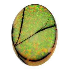 opal multi color cabochon 25x17 mm fancy loose gemstone s16080
