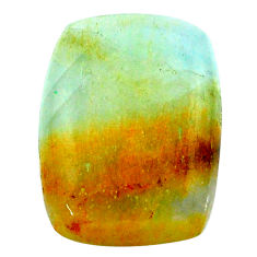 17.40cts aquatine lemurian calcite cabochon 22x16 mm loose gemstone s24265