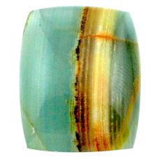24.35cts aquatine lemurian calcite cabochon 22x17 mm loose gemstone s24303