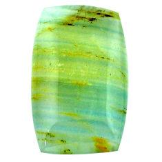 28.35cts aquatine lemurian calcite cabochon 30x18 mm loose gemstone s24264
