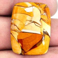 21.30cts brecciated mookaite (australian jasper) 27x21 mm loose gemstone s20845